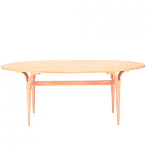 Oval Cleft Leg Tables